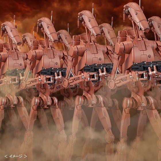 【バンダイスター・ウォーズプラモデル】 1/12 バトル・ドロイド(ジオノーシスカラー) セット 【再販】