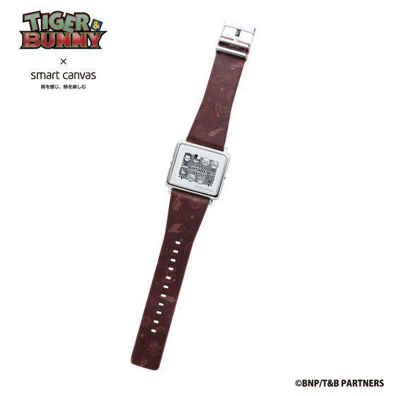 TIGER & BUNNY ×  Smart Canvas (スマートキャンバス) デジタル腕時計【2018年12月発送予定】