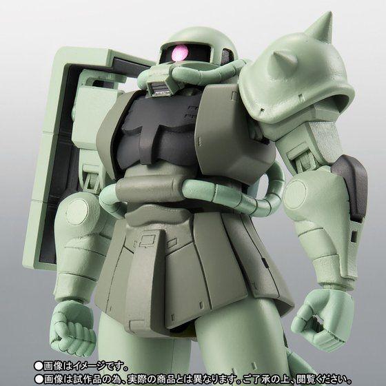 【抽選販売】ROBOT魂 〈SIDE MS〉 MS-06 量産型ザク ver. A.N.I.M.E.~ファーストタッチ2500~