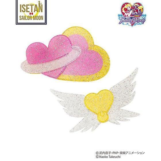 美少女戦士セーラームーン BIGヘアピンセット(2種)【2次受注:12月お届け】