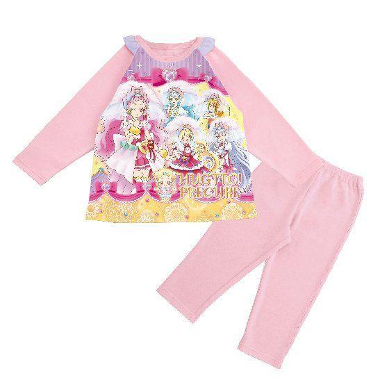 HUGっと!プリキュア はぐたんマスコット付きパジャマ
