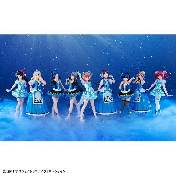 Gasha Portraits ラブライブ!サンシャイン!! ~WATER BLUE NEW WORLD SET~