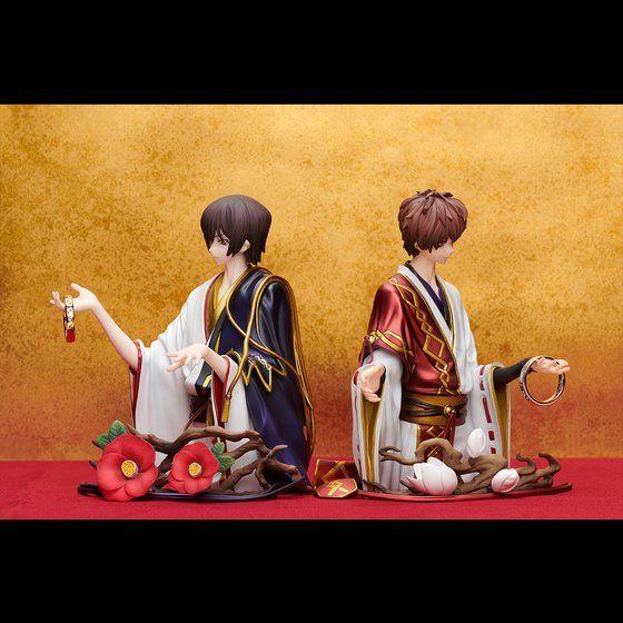 Statue and ring style ルルーシュ・ランペルージ&枢木スザク
