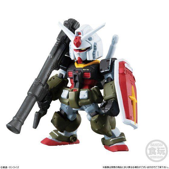 FW GUNDAM CONVERGE:CORE 機動戦士ガンダム REAL TYPE 5体セット【プレミアムバンダイ限定】