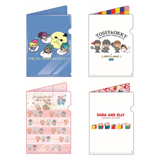 銀魂×サンリオキャラクターズ miniクリアファイルコレクション
