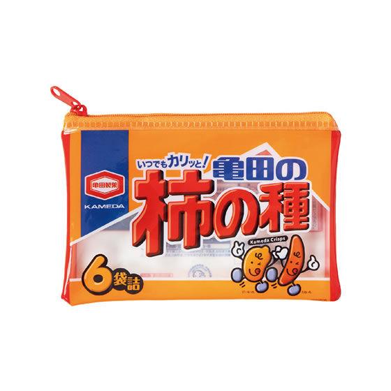 いつでもカリっと!亀田の柿の種 ぽーちこれくしょん