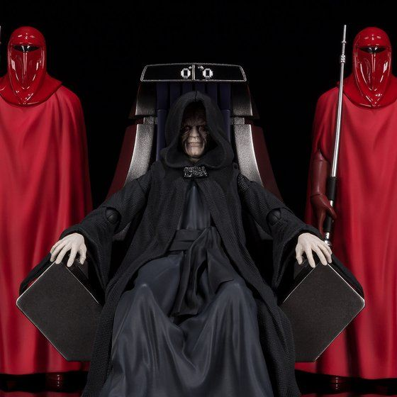 S.H.Figuarts パルパティーン皇帝-Death Star II Throne Room Set-(STAR WARS: Return of the Jedi)