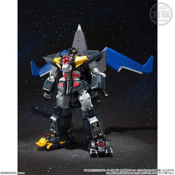 スーパーミニプラ 超獣機神ダンクーガ ブラックウイング【プレミアムバンダイ限定】