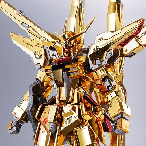 METAL ROBOT魂 <SIDE MS> アカツキガンダム(シラヌイ装備)