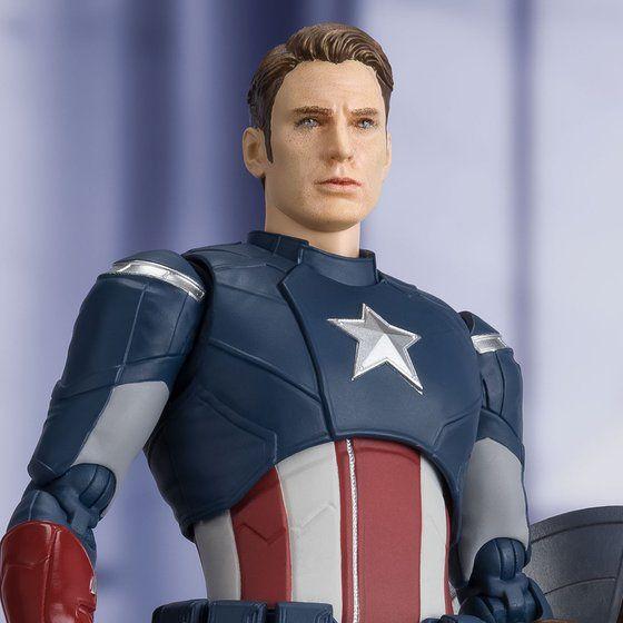 S.H.Figuarts キャプテン・アメリカ -《CAP VS. CAP》 EDITION-(アベンジャーズ/エンドゲーム)