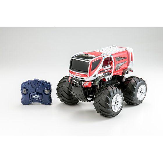 Wドライブプラス モリタ 林野火災用消防車