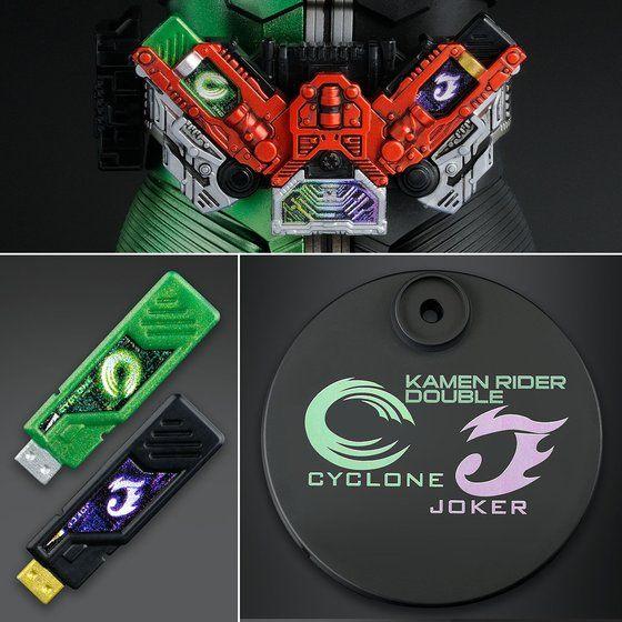 MG FIGURE-RISE ARTISAN 仮面ライダーW サイクロンジョーカー