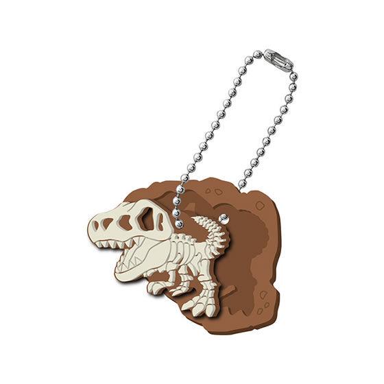 掘り出せ!恐竜の骨ラバーマスコット!!!