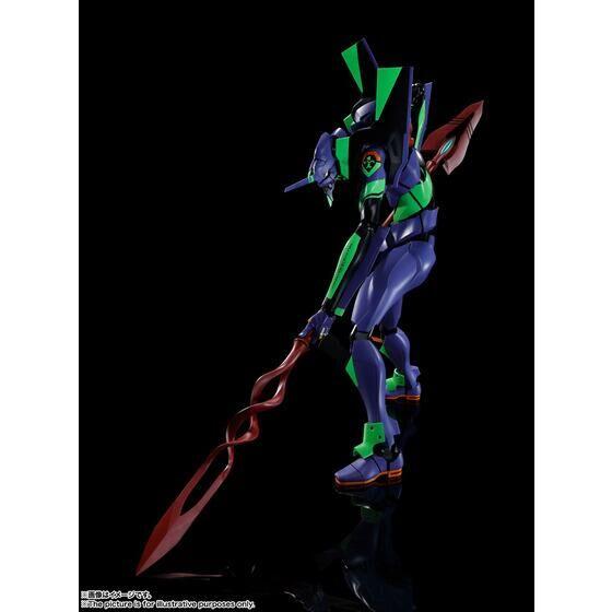 DYNACTION 汎用ヒト型決戦兵器人造人間エヴァンゲリオン初号機+カシウスの槍(リニューアルカラーエディション)