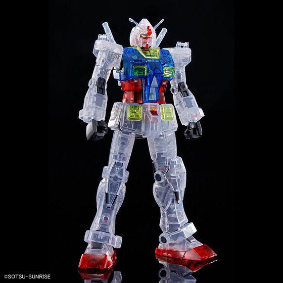 HG 1/144 RX-78-02 ガンダム(GUNDAM THE ORIGIN版)[クリアカラー]