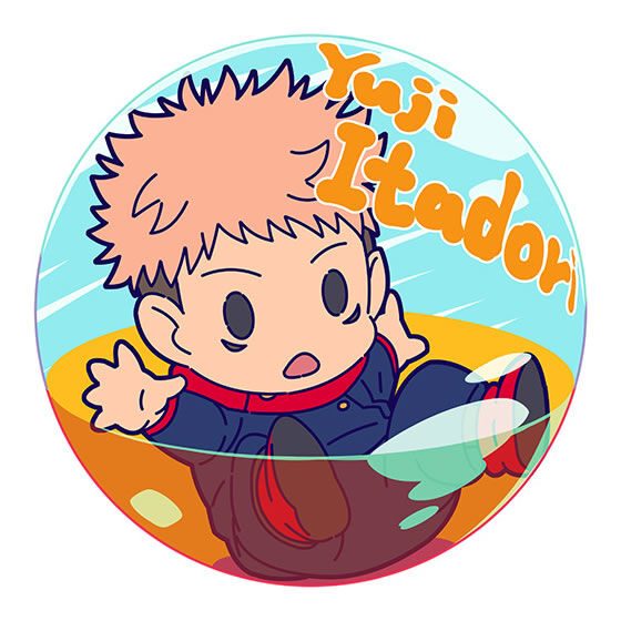 呪術廻戦 PUPPEINCAP 缶バッジ vol.01