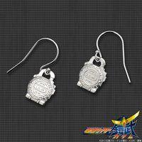仮面ライダー鎧武 メロンロックシード silver925製 プチピアス