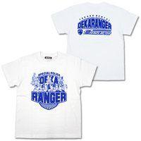 『特捜戦隊デカレンジャー 10 YEARS AFTER』 Tシャツ ホワイト