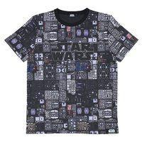STAR WARS plastic model ランナー柄Tシャツ