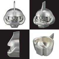 GUNDAM 錫製ぐいのみ シャア専用ザク