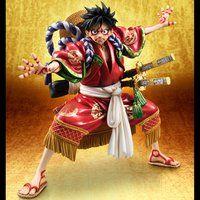 """Portrait.Of.Piratesワンピース""""KABUKI EDITION"""" モンキー・D・ルフィ【送料無料】"""