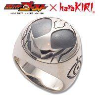 仮面ライダーゴースト×haraKIRI Collaboration Silver925製リング