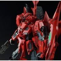 MG 1/100 MSZ-006P2/3C ゼータガンダム3号機P2型 レッド・ゼータ 【再販】