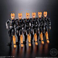 装動 仮面ライダーエグゼイド バグスターウイルス 6体セット【プレミアムバンダイ限定】