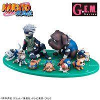 G.E.M.シリーズ 外伝! NARUTO-ナルト- 疾風伝 はたけカカシと忍犬セット
