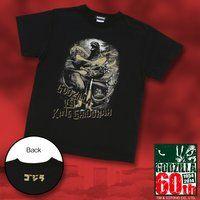 ゴジラ誕生60周年記念『キングギドラ』Tシャツ【再入荷】