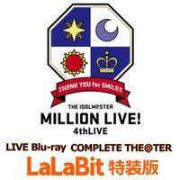 【送料無料】THE IDOLM@STER MILLION LIVE! 4thLIVE TH@NK YOU for SMILE!! LIVE Blu-ray COMPLETE THE@TER ララビット特装版