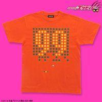 仮面ライダーエグゼイド 宝生永夢 Tシャツ 99柄 オレンジ