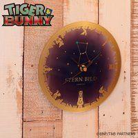 TIGER & BUNNY STERN BILD アクリル掛け時計