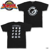 炎神戦隊ゴーオンジャー 10 YEARS GRANDPRIX Tシャツ