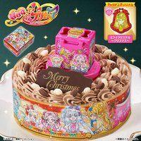 【特典あり】キャラデコクリスマス HUGっと!プリキュア(チョコクリーム)(5号サイズ)
