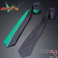 仮面ライダーW WIND SCALE ネクタイ センターライン柄