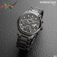 仮面ライダーW WIND SCALE クロノグラフ腕時計