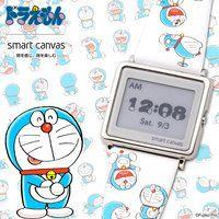 ドラえもん Smart Canvas(スマートキャンバス) デジタル腕時計【2019年3月発送】