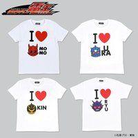 仮面ライダー電王 I LOVE イマジンTシャツ