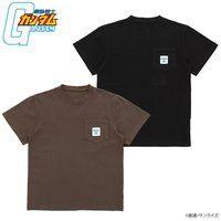 機動戦士ガンダム ポケット付きTシャツ ジオンモデル 【2019年5月発送】