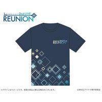 【ナナイロストア】アイドリッシュセブン 2nd LIVE 「REUNION」 ライブロゴTシャツ DARK(Mサイズ)