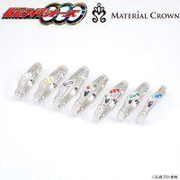 仮面ライダーオーズ/OOO×MATERIAL CROWN(マテリアルクラウン)コンボ イメージ リング