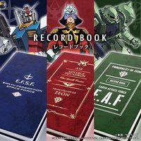 機動戦士ガンダム レコードブック(手帳)(全3種)