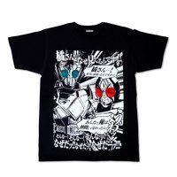 【プレミアムバンダイ限定】仮面ライダー剣/エグゼイド なぜTシャツ【再販】