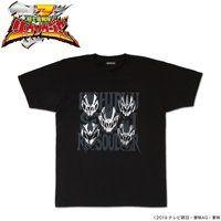 騎士竜戦隊リュウソウジャー 銀箔 Tシャツ【再販】