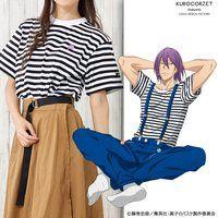 黒子のバスケ【KUROCORZET】紫原のボーダーTシャツ(19SS)