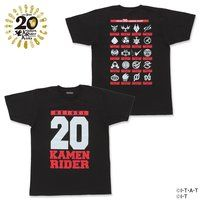 平成仮面ライダー20作品記念 ユニフォーム風デザインTシャツ