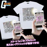 機動戦士ガンダム 特殊プリント Tシャツ