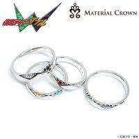 仮面ライダーW×MATERIAL CROWN(マテリアルクラウン)リング