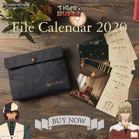 TIGER & BUNNY 2020年ファイルカレンダー